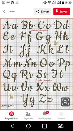 Embroidery Alphabet, Cross Stitch Alphabet, Cross Stitching, Cross Stitch Embroidery, Cross Stitch Tutorial, Disney Cross Stitch Patterns, Cross Stitch Boards, Pixel Pattern, Presents For Kids