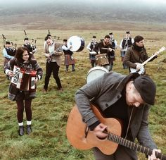 Rend Collective! They are amazing live! I love their Irish instruments!!! And they are Irish!!!
