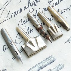 10 vintage pen nibs    POVT by CoolVintage on Etsy, $7.50