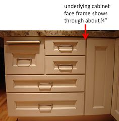 Full Overlay Types Of Cabinets Cabinet Filing Doors Pull