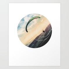 Skydive Gravity Art Print - Inspirational Freedom Wall Art, Flying Parachute Geometric Photography Art, Printable Extreme Sports Poster  Skydive Gravity. This eye-catching design will make anybody pause for a second and reflect.  Art & Collectibles, Prints, Digital Prints, digital art print, printable wall art, quote poster print, canvas quote art, inspirational art, sacred geometry art, geometric shapes art, photography nature, skydiving picture, freedom in the air, extreme sport, anti…