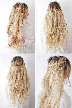 12 Favorite Braid Hair Tutorials If you are tired of the same old hairstyles, you should look through hair tutorials. These collections can offer something new and explain how to do it. Old Hairstyles, Cool Braid Hairstyles, Braided Hairstyles Tutorials, Pretty Hairstyles, Braid Hair Tutorials, Hairstyles Pictures, Hair Braiding Tutorial, Hair Extension Hairstyles, Easy Medium Hairstyles