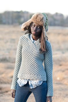 tundra pullover - Quince and Co