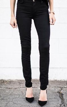 Ily Couture Black Skinny Jeans