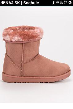 Ružové snehule s kožušinou CnB Ugg Boots, Uggs, Adidas, Shoes, Fashion, Moda, Zapatos, Shoes Outlet, Fashion Styles