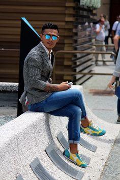 Retour sur le Pitti Uomo 2017 ! Découvrez nos articles sur nouvelle-collection.com #mode #homme #pittiuomo #style #look #shopsquare
