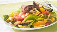 Recipes - Quick & Easy Steak Salad Cooking Video #Recipes #recipe #cook #food