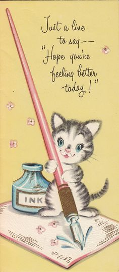Hi Ira! I hope you had a restful weekend and you're feeling much better. I'm sending you warm, healing thoughts for the week ahead. xo