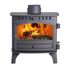 9.1KW Herald 8 Multi Fuel Stove | Buy Traditional Multi Fuel Stoves Online | UK Stoves