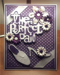 cricut the perfect pair | Project Center - The Perfect Pair | Card inspiration