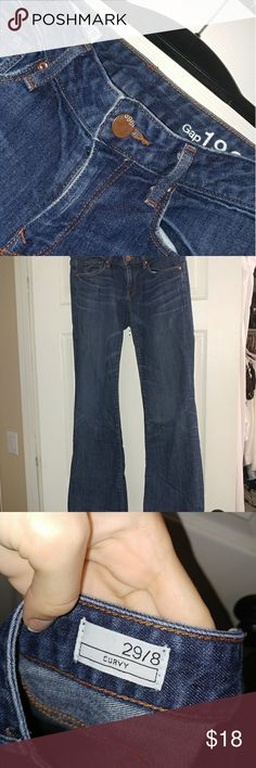 Bootcut low rise Gap jeans Everyone needs a pair of Gap jeans in their closet right? These are perfect for a girls night out or running errands!  These don't fit me right which is why I'm getting rid of them!  Make an offer? GAP Jeans Boot Cut