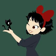 Is this kiki's delivery service? Sooo cute!!