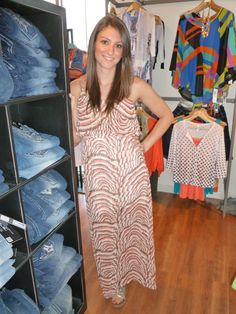 One of our FUN new Maxi dresses!