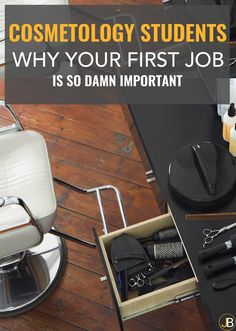 Your first job out of cosmetology school is incredibly important. In fact, if you choose poorly, it can haunt you for a very long time. Watch this video and avoid the problem in the first place.// xo Jackie