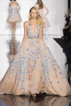 Défilé Zuhair Murad printemps-été 2015 Haute couture | Le Figaro Madame look 28