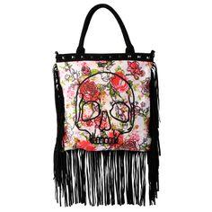 Iron Fist Creepy Rose tote bag