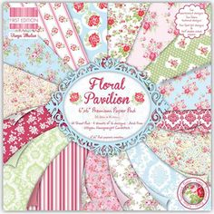 First Edition Paper Pack Pad - Floral Pavillion 6 x 6