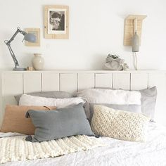 woolen bedspread and cushion with sequins   Products I Love ...