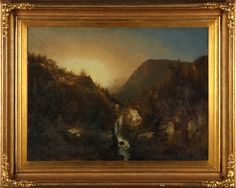 Charles Sommer (NY, 1829-1894), Adirondacks Sold $8,500