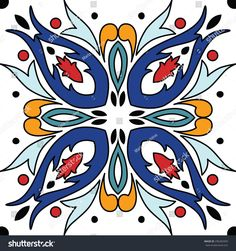 Find Vector Seamless Ornamental Tile Background Vector stock images in HD and millions of other royalty-free stock photos, illustrations and vectors in the Shutterstock collection. Mandala Art, Tuile, Turkish Art, Mo S, Decorative Tile, Tropical Decor, Art Background, Tile Art, Free Vector Art