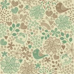 http://br.freepik.com/vetores-gratis/padrao-floral-com-passaros-fundo-do-vintage_688765.htm