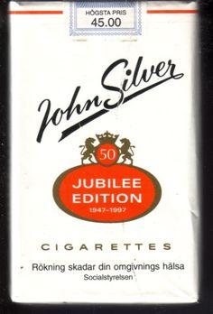John Silver jubilee edition, tiliverkad i begränsat upplaga 1997 då märket fyllde 50 år.