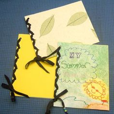 "laced book...also like the ""My Summer"" idea"