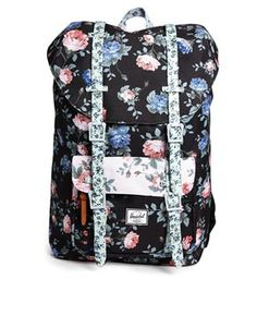 modeherz herschel little america mid volume backpack pelican floria tan rucksack. Black Bedroom Furniture Sets. Home Design Ideas