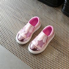 >> Click to Buy << 2017 Spring and Autumn New Flat Girls Sports Shoes Children A pedal Five-pointed star casual board shoes big lazy sneakers 26-36 #Affiliate
