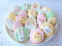 Easter egg cookies by Miss Biscuit