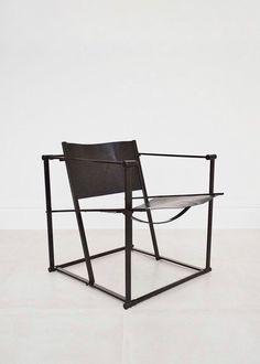 Radboud Van Beekum 'Cube' chair for UMS Pastoe | Béton Brut London