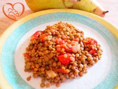 Lenticchie e pomodori http://www.cuocaperpassione.it/ricetta/53311f4c-9f72-6375-b10c-ff0000780917/Lenticchie_e_pomodori