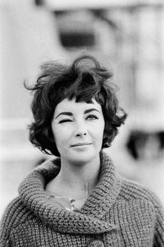 Elizabeth Taylor, Rome, 1961 / Sam Shaw