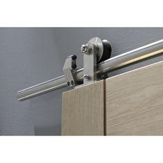 rail pour porte coulissante loft portes coulissantes pinterest rail pour porte. Black Bedroom Furniture Sets. Home Design Ideas