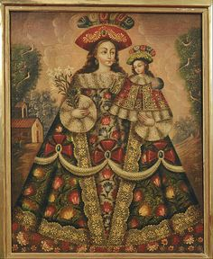 File:Anonymous, Cuzco School, Peru - The Virgin of the Pilgrims and Child - Google Art Project.jpg