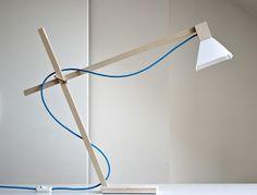 White MAX lamp by FLAPO