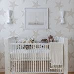 Neutral Nursery with SISSY+MARLEY for Jill Malek Lucky Star Wallpaper