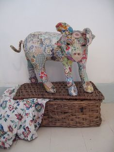 Textile Animals by Bryony Jennings