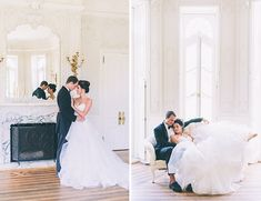 Feminine French Wedding Inspiration - Inspired By This