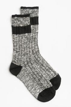 Striped cabin socks- Ardene, 2 for $10
