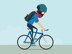 Bicycle Boy by Sijo M Peter - Dribbble