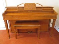 #WeserBros #UprightPiano w Bench  $1250
