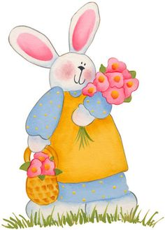 come to Pretty Charm. April Easter, Easter Bunny, Happy Easter, Painting Patterns, Fabric Painting, Decoupage, Easter Illustration, Bunny Images, Rabbit Art
