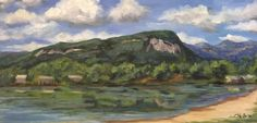 Rumbling Bald Mountain by ColeenHesterArt on Etsy