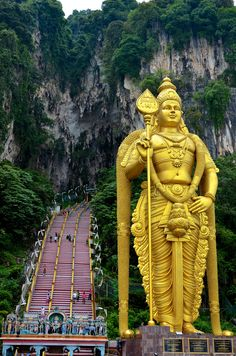 Batu Caves in #Malaysia by Necessary Indulgences. #BatuCaves #KualaLumpur