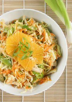 Asian Orange Sesame Chicken Salad at www.DailyBitesBlog.com #soyfree #glutenfree
