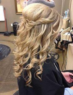Long Hairstyles for Weddings