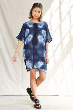 Riverside Tool & Dye Tunic Dress - Urban Outfitters