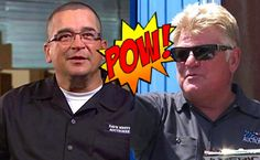 Storage Wars stars Dave Hester and Dan Dotson brawled at an auction in Palm Springs. Dan was fine. Dave sent to the hospital. Storage Auctions, Entertainment Blogs, Reality Tv, Palm Springs, Dan, Mens Sunglasses, Entertaining, Stars, Funny