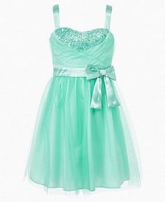 fancy dresses for girls 7-16 | Ruby Rox Girls Dress, Girls Tulle Sequin Dress - Kids Girls 7-16 ...
